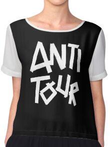 Kylie Minogue - Anti Tour (white text) Women's Chiffon Top