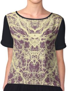 As we travel the Universe Chiffon Top