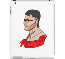 Team Fortess RED Medic Doctor Assisted Homicide iPad Case/Skin