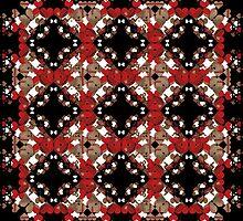 Hearts pattern by dominiquelandau