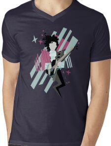 Ghost of the prince Mens V-Neck T-Shirt