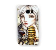 Living with Falcons Samsung Galaxy Case/Skin