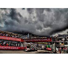 Formula 1 Monaco Grand Prix 2016 Photographic Print