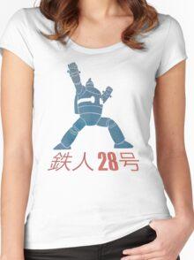 Tetsujin 28-go! Women's Fitted Scoop T-Shirt