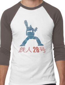 Tetsujin 28-go! Men's Baseball ¾ T-Shirt