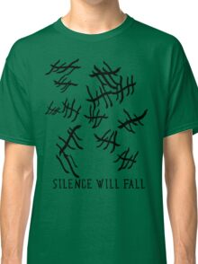 Silence Will Fall | Doctor Who Classic T-Shirt