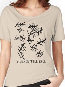 Silence Will Fall | Doctor Who Women's Relaxed Fit T-Shirt