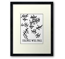 Silence Will Fall | Doctor Who Framed Print