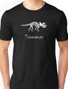 Triceratops Skeleton Unisex T-Shirt