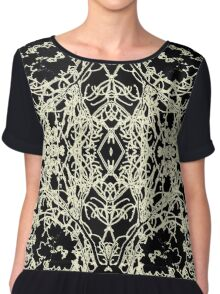 a bustle in your hedgerow  Chiffon Top