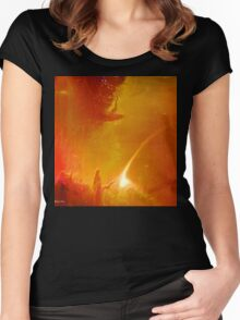 To make you feel my love- Art + Products Design  Women's Fitted Scoop T-Shirt