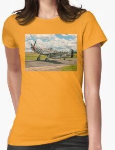 "CAC Mustang 23 A68-192 G-HAEC ""Big Beautiful Doll"" Womens Fitted T-Shirt"