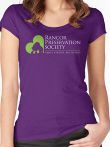 Rancor Preservation Society - Brown Women's Fitted Scoop T-Shirt