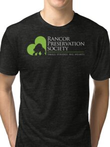 Rancor Preservation Society - Brown Tri-blend T-Shirt