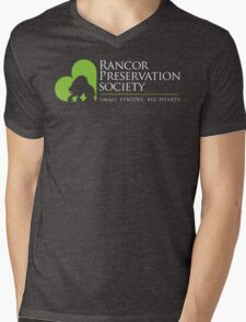 Rancor Preservation Society - Brown Mens V-Neck T-Shirt