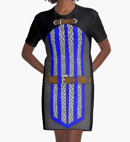 Grey Warden Mage Dress Graphic T-Shirt Dress
