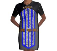 Grey Warden Mage Dress Graphic T-Shirt Dress