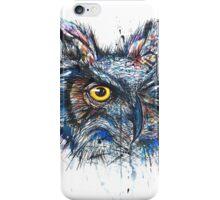 'Owl Insanity' 2014 (Full Image) iPhone Case/Skin