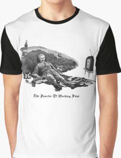 The Deserter of Working Days Graphic T-Shirt