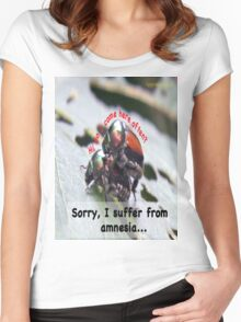 Hi, do i come here often? Women's Fitted Scoop T-Shirt