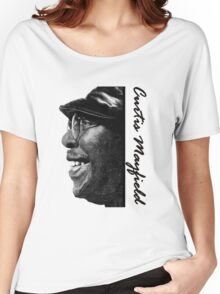 Curtis Mayfield  Women's Relaxed Fit T-Shirt