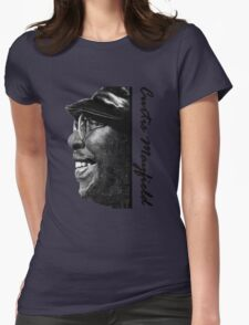 Curtis Mayfield  Womens Fitted T-Shirt