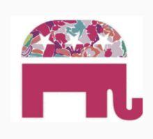 Republican Elephant One Piece - Short Sleeve