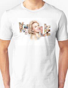 Kylie Minogue - Portrait Art Tribute Unisex T-Shirt