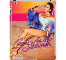 demo lovato - cool for the summer iPad Case/Skin