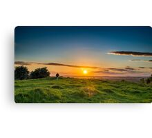 Somerset Sunset Canvas Print