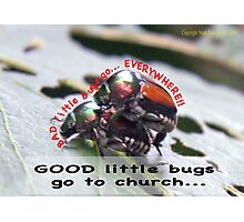 Bad little bugs go everywhere… Photographic Print