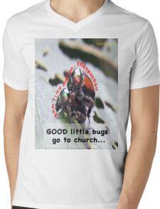 Bad little bugs go everywhere… Mens V-Neck T-Shirt