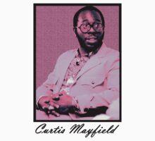 Curtis Mayfield Purple by TikTakTwo