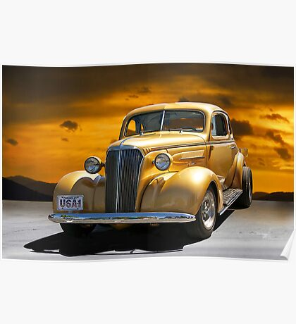 1937 Chevrolet Coupe Poster