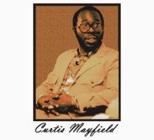 Curtis Mayfield Orange by TikTakTwo