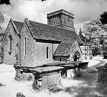 St Giles' church - Infra Red by Paul Woloschuk