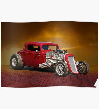 1934 Chevrolet Coupe Poster