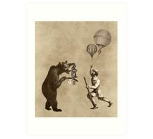 The Magician Bear Art Print