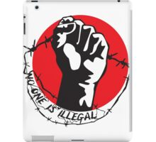 No One Is Illegal iPad Case/Skin