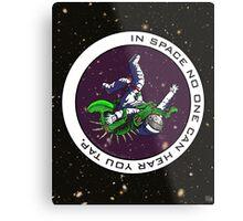 Jiu-Jitsu - Alien Vs Astronaut Metal Print