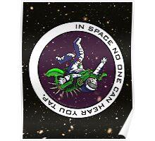 Jiu-Jitsu - Alien Vs Astronaut Poster