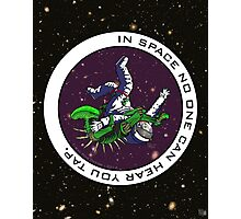 Jiu-Jitsu - Alien Vs Astronaut Photographic Print