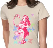 Alice in Flight Womens Fitted T-Shirt