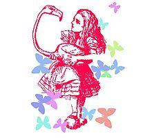 Alice in Flight Photographic Print