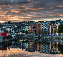 Cork Sunset by lgreatorex