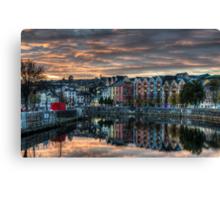 Cork Sunset Canvas Print
