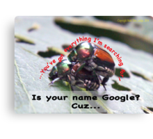 Is your name Google? Canvas Print