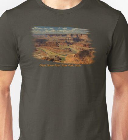 Dead Horse Point State Park, Utah Tee Shirt or Sticker Unisex T-Shirt