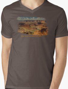 Dead Horse Point State Park, Utah Tee Shirt or Sticker Mens V-Neck T-Shirt