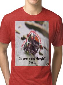 Is your name Google? Tri-blend T-Shirt